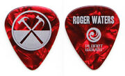 Roger Waters The Wall Roger Waters Red Pearl Guitar Pick - 2012 Tour Pink Floyd