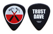 Roger Waters The Wall Dave Kilminster Black Guitar Pick - 2012 Tour Pink Floyd