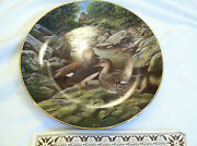 Bart Jerner 1988 Plate With Coa The Gadwall