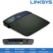 New Linksys Ea3500 N750 Dual-band Wi-fi Router - 2.4ghz 5ghz, 1x Usb 2.0