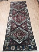 3and0394 X 9and0397 Turkish Floor Runner Oriental Rug - Hand Made - 100 Wool