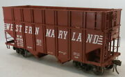 O 2rail Brass R.yoder Western Maryland Class H-15 Wood Chip Hopper 2936 Painted