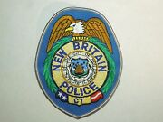 Vintage New Britain Connecticut Ct Police City Seal Embroidered Iron On Patch