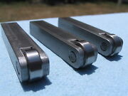 Atlas / Craftsman 9 10 And 12 Lathe Steady Rest Jaws / Fingers With Bearings