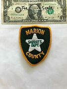 Old Marion County Florida Police Patch Sheriff's Dept. Pre-sewn In Great Shape