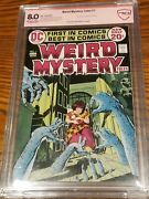 Weird Mystery Tales 1 Jack Kirby Signed 1st Destiny Of The Endless Cbcs 8.0