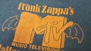 Authentic Vintage Frank Zappa New York Nyc Halloween 81 Concert T-shirt 80s Xl