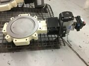 High Performance Butterfly Valve 12 Lug 150 Durco Bx2 W/ Actuator And Positioner
