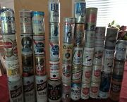 Lot Of 42 Collectible Beer Cans, Vintage Schlitz Olde English Wiedemann Pearl