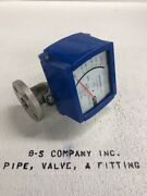 Variable Area Flow Meter Krohne H250/rr/m9 1andrdquo 316ss Flanged Connections