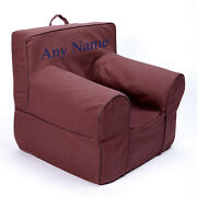 Insert For Anywhere Chair + Brown Cover Reg Size Chair Embroidered Blue