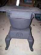 Antique Old Vestal Stove Co Sweetwater Tn 5 Cast Iron Small Wood Stove-refurb