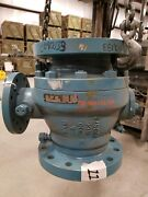 Ball Valve Wkm 370d4 Full Port Trunnion 6 300 Rf Flanged Lever Operated