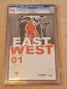 East Of West 1 Cgc 9.8 Forbidden Planet Variant E Exclusive Hickman Optioned