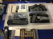 Ge Rca Insignia Hp Philips Magnavox Remote Control Mix Lot For Vcr Tv Dvd Stereo