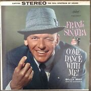 Come Dance With Me Frank Sinatra Billy May Lp Records Vinyl Album Sw1069 Ds