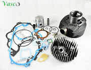 Vespa Cylinder Kit Complete With Head And Gasket 5 Port Px Lml 150cc - Sm