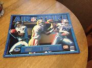 Nfl Poster 1992 Frito Lay Promo Michael Irvin Jerry Rice Ande Rison Air Strike
