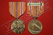 Wwii Asiatic-pacific Campaign Medal, Full Size, Issue Finish, Restrike 1112