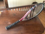 Babolat Y112 4 3/8 Strung With Vs Touch Natural Gut 16g 60lbs Excellent