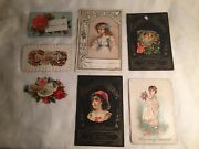 Vintage Valentine's Day Card And Decorations, Religious Cards And More