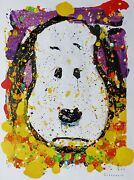 Tom Everhart Squeeze The Day -thursday Peanuts Cool Snoopy Main Signandeacutee Mat
