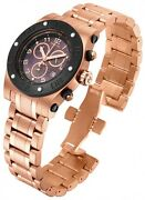 Swiss Made 15768 Reserve Speedway Chronograph Rose-gold Ss Menand039s Watch