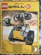 Lego Ideas Wall-e Factory Sealed Retired Set Brand New