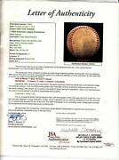 1955 New York Yankees Jsa Auto Team Ball Mickey Mantle Berra Ford Rizzutto ++