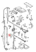 Genuine Vw Seat Skoda Harness For Engine Compartment Lhd 1j1971090ah