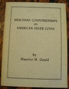 Merchant Counterstamps On American Silver Coins 1962 Rare Free Us Shipping