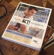 The Official Act Quickstudy Guide 2007 Edition Sage Software Free Us Shipping