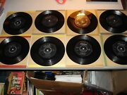 Rare Lot Of 8 Beach Boys Uk Singles 1960s Good Vibrations, God Only Knows G+ -vg
