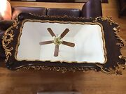 La Barge Rococo Style Italian Wood Hand Carved Gold Gilt Wall Mirror