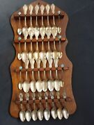 Wm Rogers And Son Aa Gorham Demitasse Whiting Antique Sterling Silver Spoon Lot