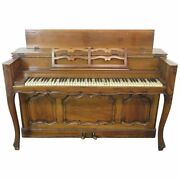 Superb Carved Walnut French Louis Xv Upright Piano Attributed To Auffray C1950