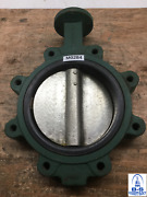 Butterfly Valve 8 150 Lug Style Centerline 200 Nickel Plated Disc Epdm Seat