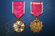 Legionaire Of The Legion Of Merit, Full Size, Anodized Gold Finish 1015-anfp