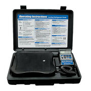 Mastercool 98211-a Accu-charge Iii Electronic Refrigerant Scale