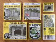 New Lot Of 6 Woodland Scenics Ho Scale Hobby Train Miniature Structures Nib