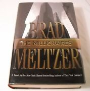 The Millionaires - Signed By Brad Meltzer - 1st Edition / 1st Printing B185