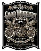 Vintage Sign Made Usa Old Bikes 18 X 23