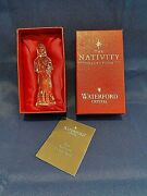 Waterford Crystal The Nativity Collection - Shepherd Boy With Horn