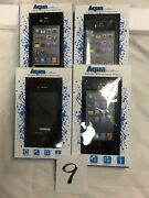 Aqua By Bfree Waterproof Cases Lot 4 For Iphone 4/4s + 5  280a