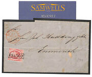 Ms983 1867 Netherlands Classic Railway Station Emmerich Bahnhof Cover Germany