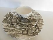 3 Piece Royal Mail Ironstone Made In England Cup Saucer And Plate