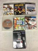 Nhl 13+mlg 13+madden Nfl 11 And More Bundle Of 7 Pre-owned Ps3 Games X-110
