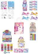 Different Themed Filled Party Boxes Or Bags Gifts Favours Puzzle Bubbles Xmas