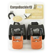 Boat Buckle F18800 G3 Retractable Ratchet Tie-down System 72in Pair Boat