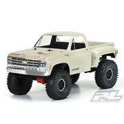 Pro-line 1978 Chevy K-10 Clear Body Cabandbed Crawler 313mm Wb Pl3522-00